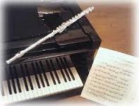 ピアノとフルート